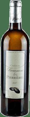 11,95 € Kostenloser Versand | Weißwein Château Beaumont Les Pierrieres Crianza A.O.C. Bordeaux Frankreich Flasche 75 cl