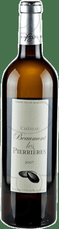 9,95 € Envío gratis | Vino blanco Château Beaumont Les Pierrieres Crianza A.O.C. Bordeaux Francia Botella 75 cl