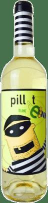 5,95 € 免费送货 | 白酒 Pillet Joven D.O. Cariñena 阿拉贡 西班牙 Macabeo 瓶子 75 cl