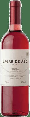 3,95 € Free Shipping | Rosé wine Lagar de Aso Joven D.O.Ca. Rioja The Rioja Spain Tempranillo Bottle 75 cl