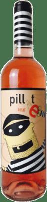 5,95 € Free Shipping | Rosé wine Pillet Joven D.O. Cariñena Aragon Spain Grenache Bottle 75 cl