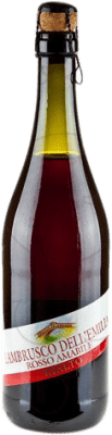 3,95 € Free Shipping | Red sparkling Rialto Negre D.O.C. Lambrusco di Sorbara Italy Lambrusco Bottle 75 cl