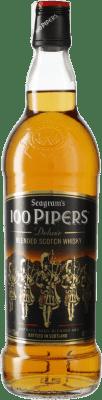 12,95 € Kostenloser Versand | Whiskey Blended 100 Pipers Großbritannien Flasche 70 cl