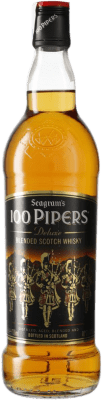 12,95 € Envío gratis | Whisky Blended 100 Pipers Reino Unido Botella 70 cl