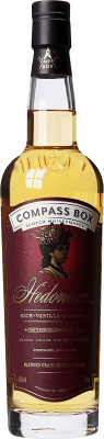 102,95 € Free Shipping | Whisky Blended Compass Box Hedonism Reserva United Kingdom Bottle 70 cl