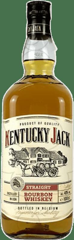 13,95 € Envío gratis | Whisky Blended Kentucky Jack Estados Unidos Botella Misil 1 L