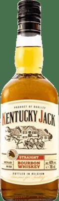9,95 € Envío gratis | Whisky Blended Kentucky Jack Estados Unidos Botella 70 cl