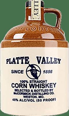 25,95 € Free Shipping | Whisky Blended Platte Valley Corn Reserva United States Bottle 70 cl
