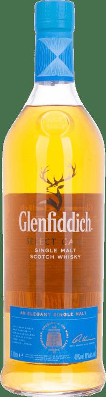 42,95 € Free Shipping | Whisky Single Malt Glenfiddich Cask Collection United Kingdom Missile Bottle 1 L