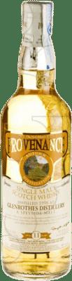 88,95 € Kostenloser Versand   Whiskey Single Malt Provenance Glenrothes Distillery 11 Años Großbritannien Flasche 70 cl