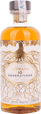 44,95 € Free Shipping | Cognac Ferrand 10 Generations France Half Bottle 50 cl