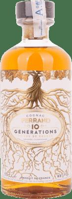 38,95 € Kostenloser Versand   Cognac Ferrand 10 Generations Frankreich Halbe Flasche 50 cl