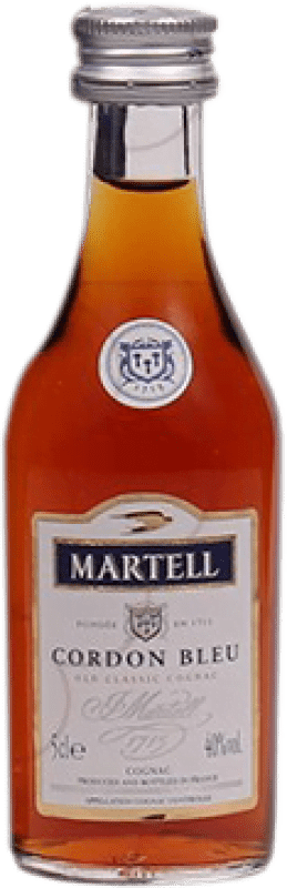 17,95 € Free Shipping | Cognac Martell Cordon Bleu France Small Bottle 5 cl