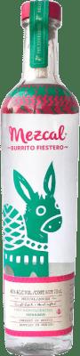 36,95 € Free Shipping | Mezcal Burrito Fiestero Mexico Bottle 75 cl