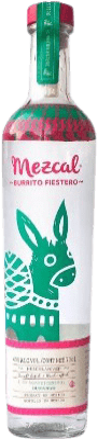 39,95 € Kostenloser Versand | Mezcal Burrito Fiestero Mexiko Flasche 75 cl