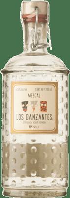 48,95 € Kostenloser Versand | Mezcal Los Danzantes Blanco Mexiko Flasche 70 cl