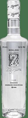 19,95 € Kostenloser Versand | Mezcal Zignum Silver Mexiko Flasche 70 cl