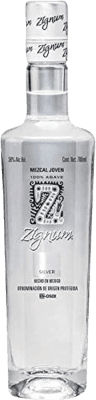 22,95 € Envoi gratuit | Mezcal Zignum Silver Mexique Bouteille 70 cl