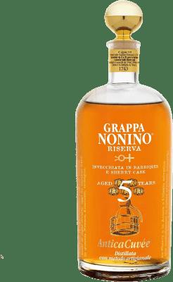 57,95 € Free Shipping | Grappa Nonino Riserva 5 Años Reserva Italy Bottle 75 cl