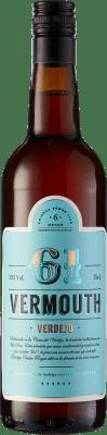 9,95 € Envoi gratuit | Vermouth Vermouth 61 Espagne Bouteille 75 cl