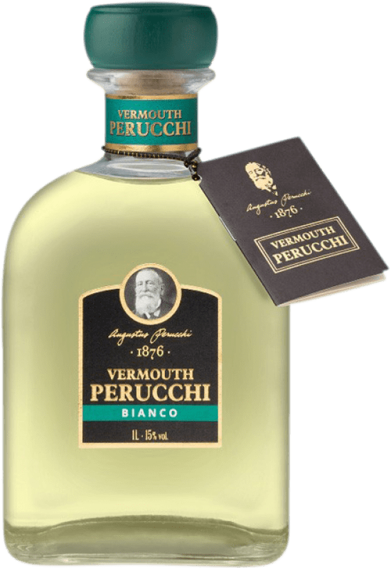 11,95 € Envío gratis | Vermut Perucchi España Botella Misil 1 L
