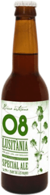 2,95 € Envoi gratuit | Bière Birra Artesana 08 Lusitània Especial Ale Espagne Botellín Tercio 33 cl