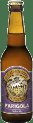 2,95 € Envoi gratuit | Bière Cervezas Les Clandestines Farigola Espagne Botellín Tercio 33 cl