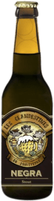 2,95 € Envío gratis   Cerveza Cervezas Les Clandestines Negra España Botellín Tercio 33 cl