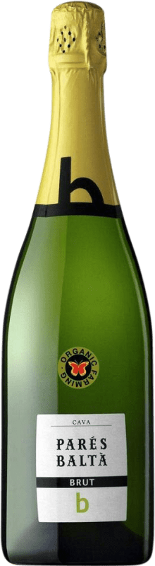 8,95 € Free Shipping | White sparkling Parés Baltà Brut Joven D.O. Cava Catalonia Spain Macabeo, Xarel·lo, Parellada Bottle 70 cl