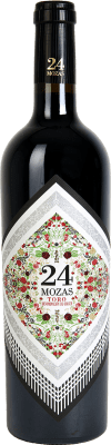 12,95 € Free Shipping | Red wine Divina Proporción 24 Mozas D.O. Toro Spain Tinta de Toro Bottle 75 cl
