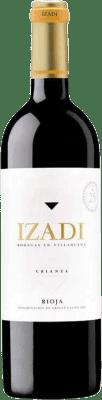 8,95 € 送料無料 | 赤ワイン Izadi Crianza D.O.Ca. Rioja スペイン Tempranillo ボトル 75 cl | 何千ものワイン愛好家が最高の価格を保証し、常に無料で出荷し、購入して合併症を起こすことなく返品します.