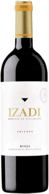 8,95 € Free Shipping | Red wine Izadi Crianza D.O.Ca. Rioja Spain Tempranillo Bottle 75 cl | Thousands of wine lovers trust us to get the best price guarantee, free shipping always and hassle-free shopping and returns.