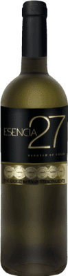 5,95 € Envio grátis | Vinho branco Meoriga Esencia 27 D.O. Tierra de León Espanha Verdejo Garrafa 75 cl | Milhares de amantes do vinho confiam em nós com a garantia do melhor preço, envio sempre grátis e compras e devoluções sem complicações.