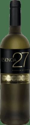 5,95 € Envío gratis | Vino blanco Meoriga Esencia 27 I.G.P. Vino de la Tierra de Castilla y León España Verdejo Botella 75 cl