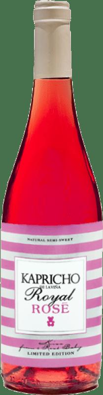 5,95 € Free Shipping | Rosé wine Meoriga Kapricho Rosé D.O. Tierra de León Spain Prieto Picudo Bottle 75 cl