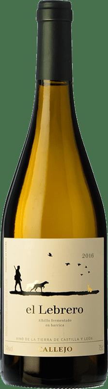 15,95 € Free Shipping | White wine Callejo El Lebrero D.O. Ribera del Duero Spain Albillo Bottle 75 cl