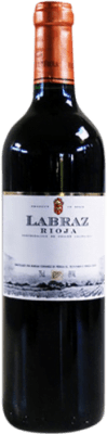 5,95 € Free Shipping | Red wine Piérola Labraz Joven D.O.Ca. Rioja Spain Tempranillo Bottle 75 cl