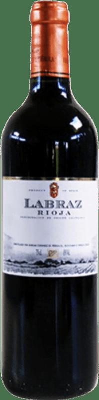 5,95 € Free Shipping | Red wine Piérola Labraz Joven D.O.Ca. Rioja Spain Tempranillo Bottle 75 cl