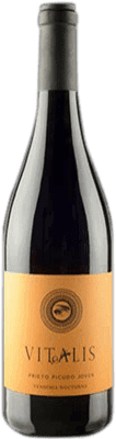 4,95 € Free Shipping | Red wine Vitalis Joven D.O. Tierra de León Spain Prieto Picudo Bottle 75 cl