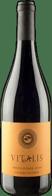 5,95 € Envoi gratuit | Vin rouge Vitalis Joven D.O. Tierra de León Espagne Prieto Picudo Bouteille 75 cl