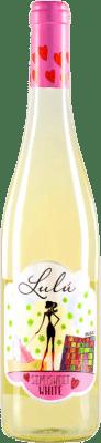 5,95 € Envio grátis | Vinho branco Vitalis Lulú D.O. Tierra de León Espanha Albarín Garrafa 75 cl | Milhares de amantes do vinho confiam em nós com a garantia do melhor preço, envio sempre grátis e compras e devoluções sem complicações.