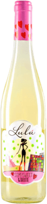 6,95 € Free Shipping | White wine Vitalis Lulú D.O. Tierra de León Spain Albarín Bottle 75 cl