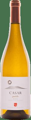 18,95 € Kostenloser Versand | Weißwein Casar de Burbia D.O. Bierzo Spanien Godello Flasche 75 cl
