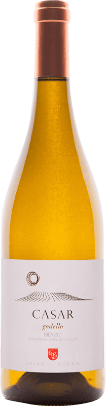 21,95 € Free Shipping | White wine Casar de Burbia D.O. Bierzo Spain Godello Bottle 75 cl