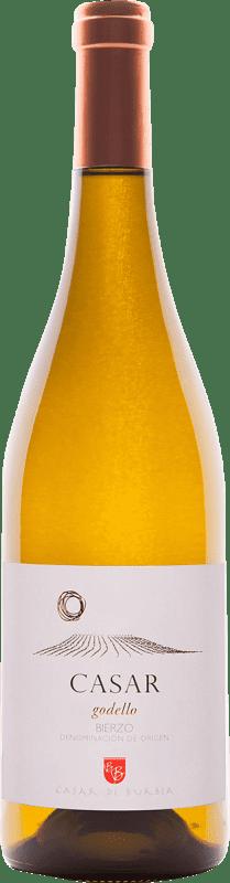 18,95 € Free Shipping | White wine Casar de Burbia D.O. Bierzo Spain Godello Bottle 75 cl