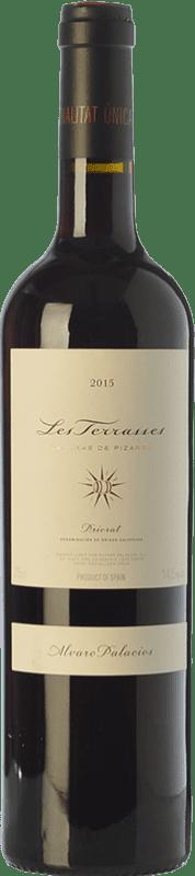 169,95 € Free Shipping | Red wine Álvaro Palacios Les Terrasses Laderas de Pizarra Crianza D.O.Ca. Priorat Catalonia Spain Syrah, Grenache, Cabernet Sauvignon, Carignan Jéroboam Bottle-Double Magnum 3 L