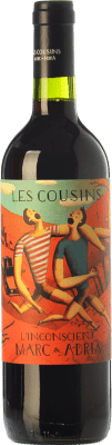 102,95 € Envío gratis | Vino tinto Les Cousins L'Inconscient Crianza D.O.Ca. Priorat Cataluña España Merlot, Syrah, Garnacha, Cabernet Sauvignon, Cariñena Botella Imperial-Mathusalem 5 L