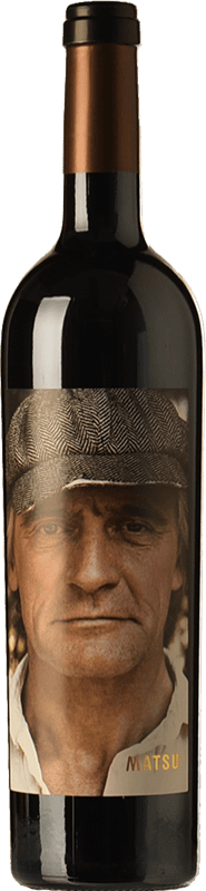 32,95 € Envío gratis | Vino tinto Matsu El Recio Crianza D.O. Toro Castilla y León España Tinta de Toro Botella Mágnum 1,5 L