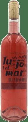 10,95 € Free Shipping | Rosé wine Joan Simó Tu, Jo i el Mar Joven D.O.Ca. Priorat Catalonia Spain Grenache, Mazuelo, Carignan Bottle 75 cl