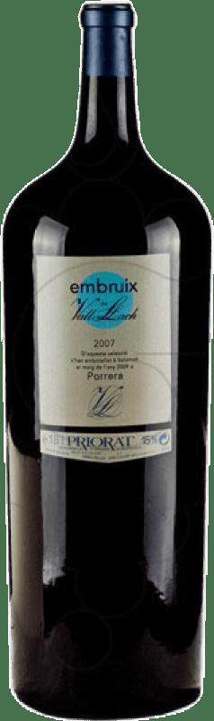 583,95 € Free Shipping | Red wine Vall Llach Embruix Crianza D.O.Ca. Priorat Catalonia Spain Merlot, Syrah, Grenache, Cabernet Sauvignon, Mazuelo, Carignan Botella Melchor 18 L
